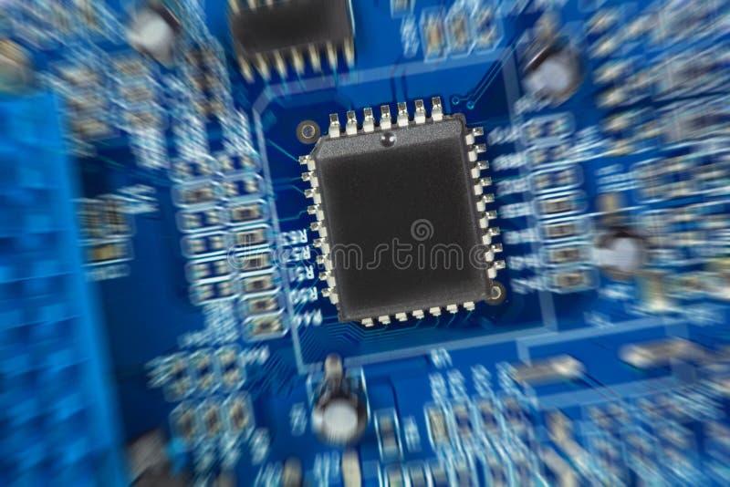Composant de l'électronique photographie stock