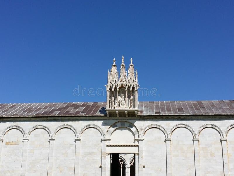 Composante Monumentale in Piazza dei Miracoli stock foto