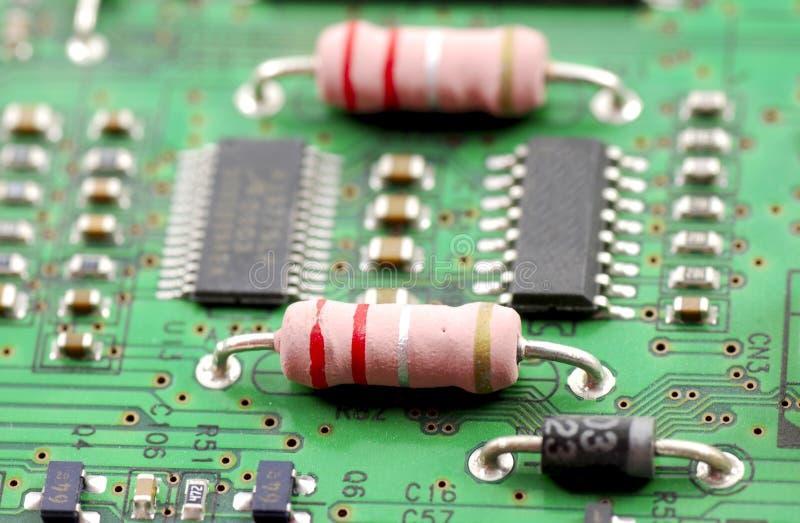 Composants électroniques et dispositifs photos stock