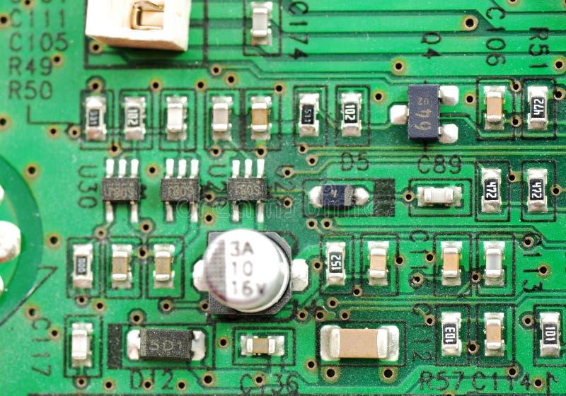 Composants électroniques et dispositifs photographie stock libre de droits