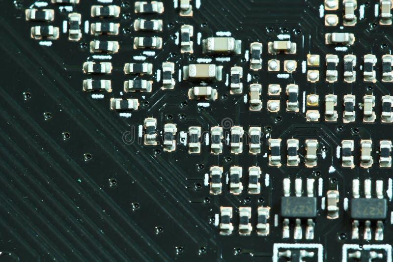 Composants de l'électronique de semi-conducteur images stock