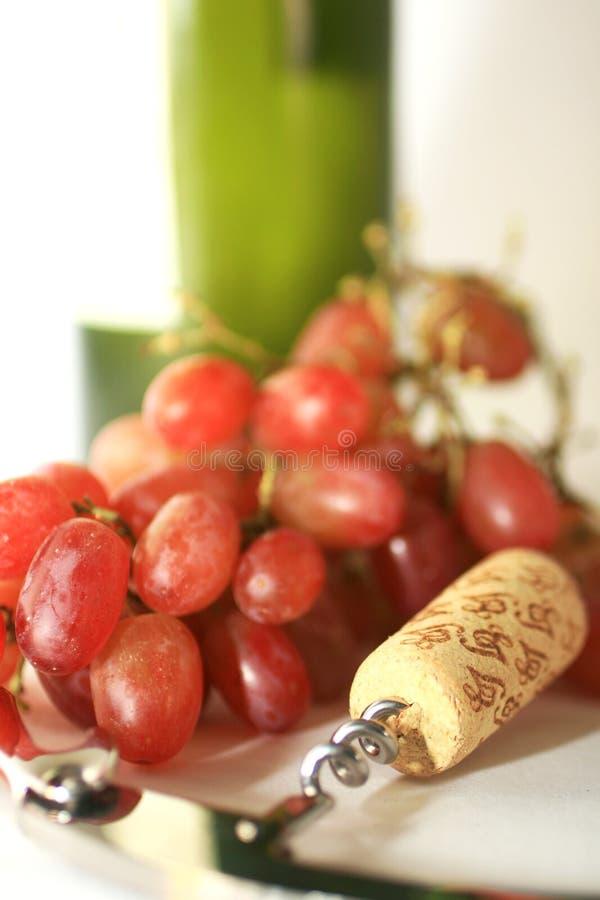 Composants du vin images stock