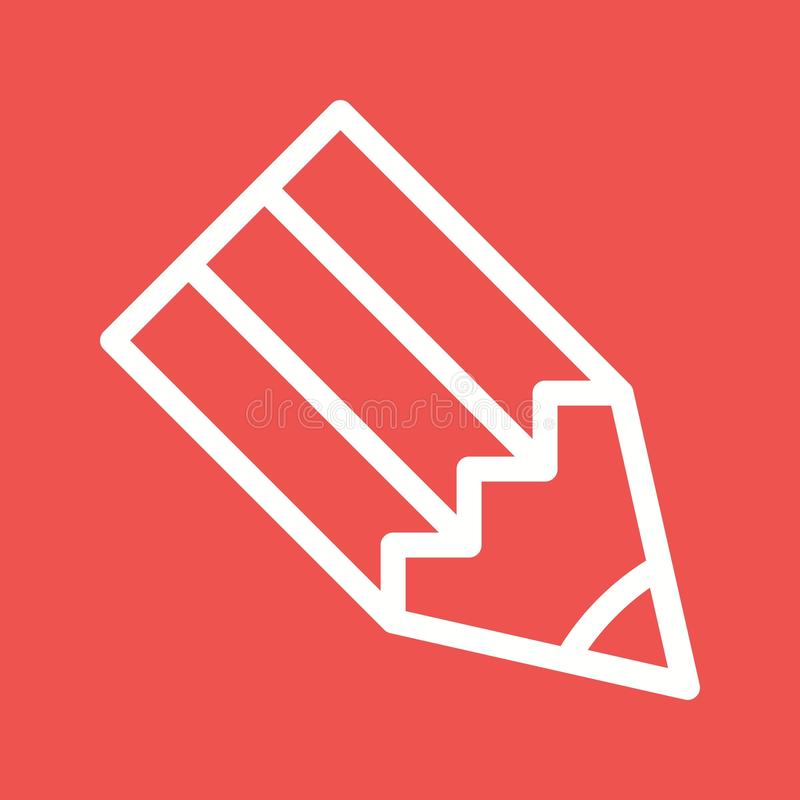 Compose. Email, web icon vector image.Can also be used for web interface. Suitable for mobile apps, web apps and print media royalty free illustration