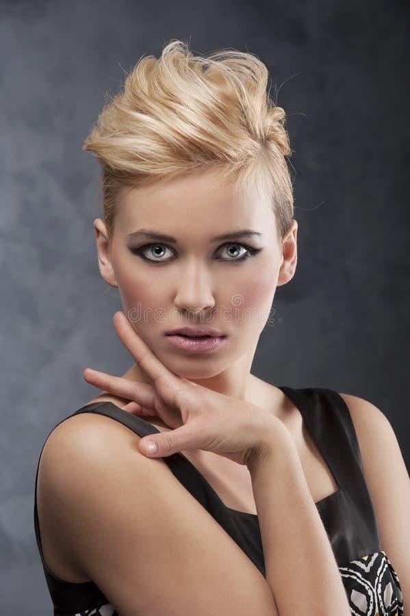 Composez et type de cheveu photo libre de droits