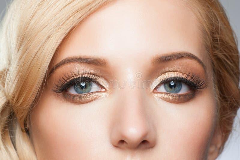 Composição à moda do olho imagens de stock royalty free