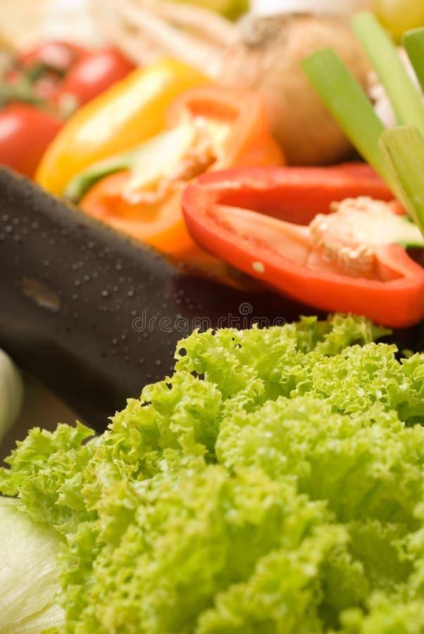 Composição 3 do detalhe dos gêneros alimentícios imagem de stock