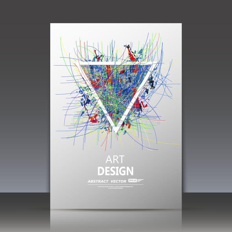 A composição abstrata, linhas estrutura da curva, manchou a mancha, borrão smeary, contexto de superfície superficial, folha suja ilustração royalty free