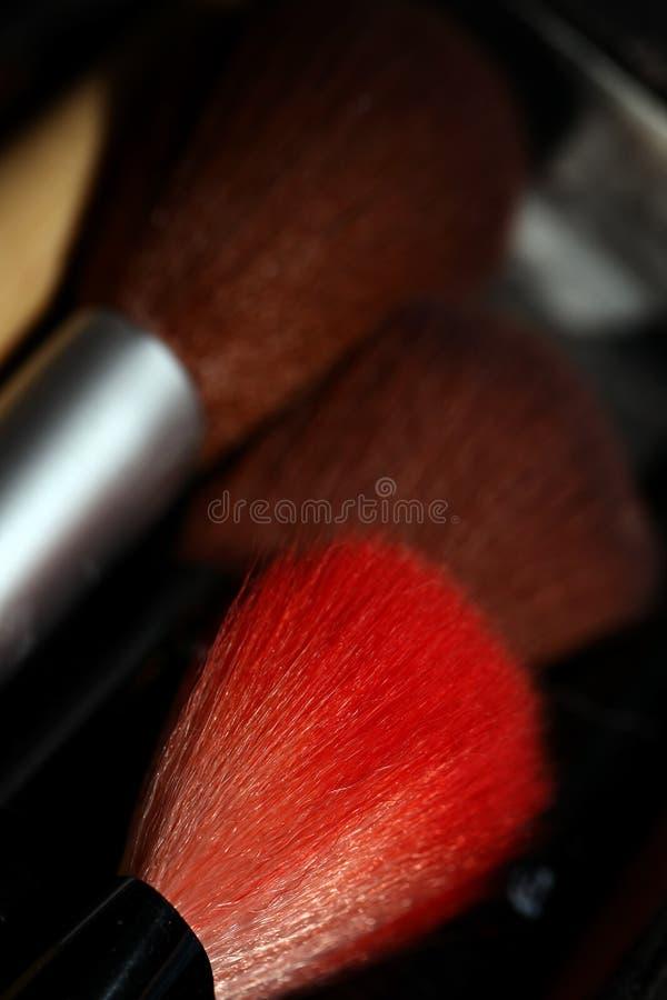 Composição Art Cosmetics Paint Brush Tools imagens de stock royalty free