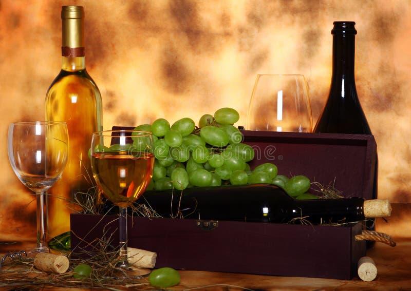 Composição bonita do vinho fotos de stock
