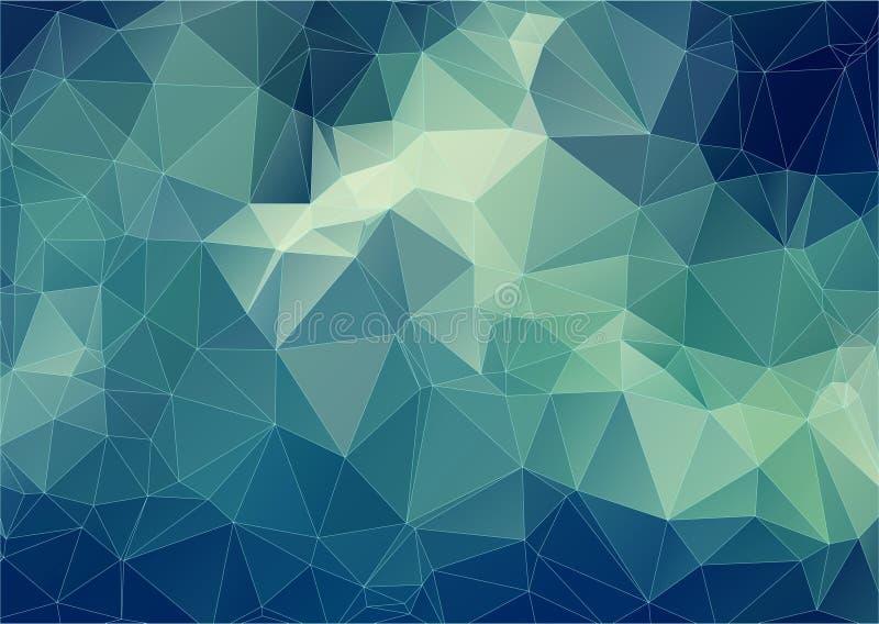Composição com formas geométricas dos triângulos ilustração do vetor