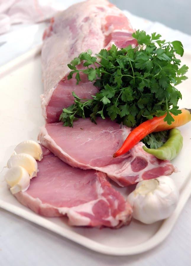 Composição da carne foto de stock