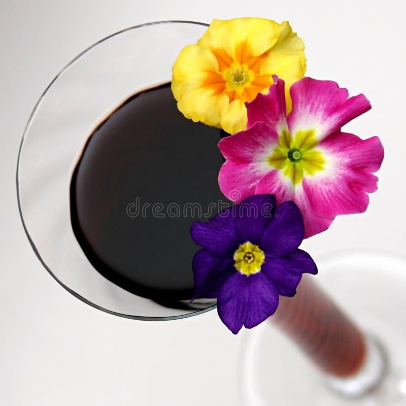 Composição da flor dos elogios imagens de stock royalty free