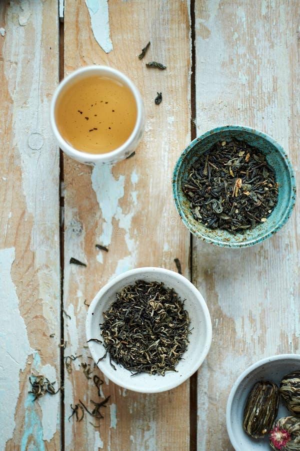 Download Composição Da Manhã Do Chá Verde Imagem de Stock - Imagem de copos, teacups: 65580913