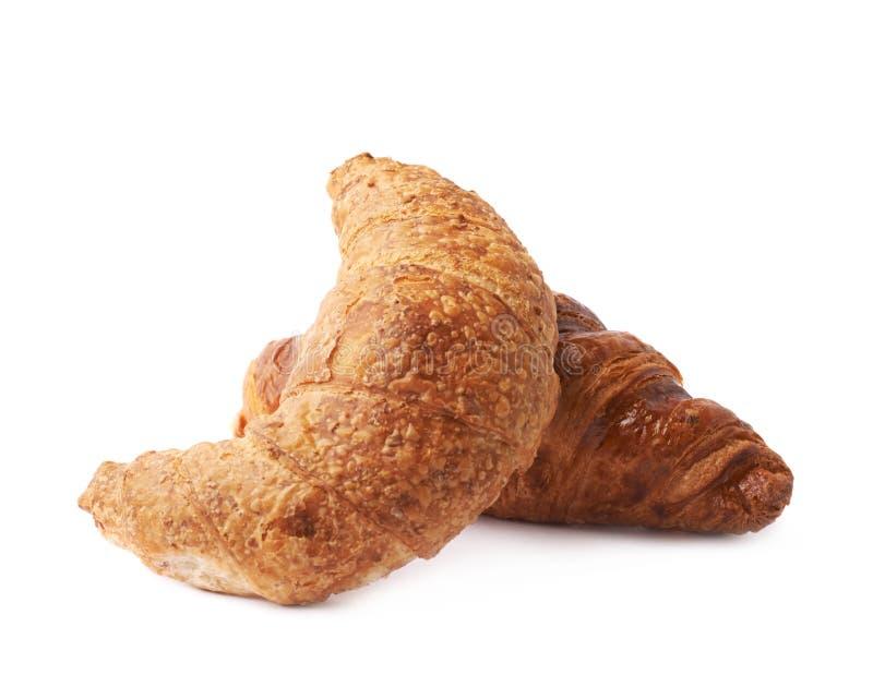 Composição da pastelaria do croissant foto de stock royalty free