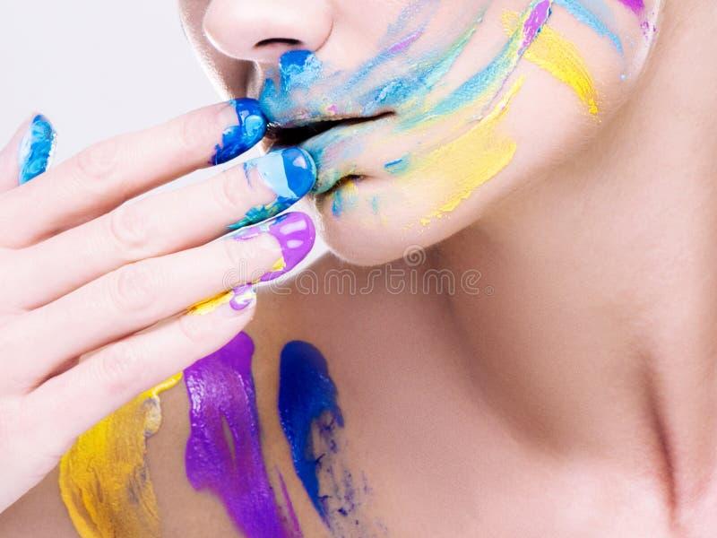 Composição de Colorfull fotografia de stock