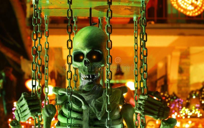 Composição de Halloween imagem de stock