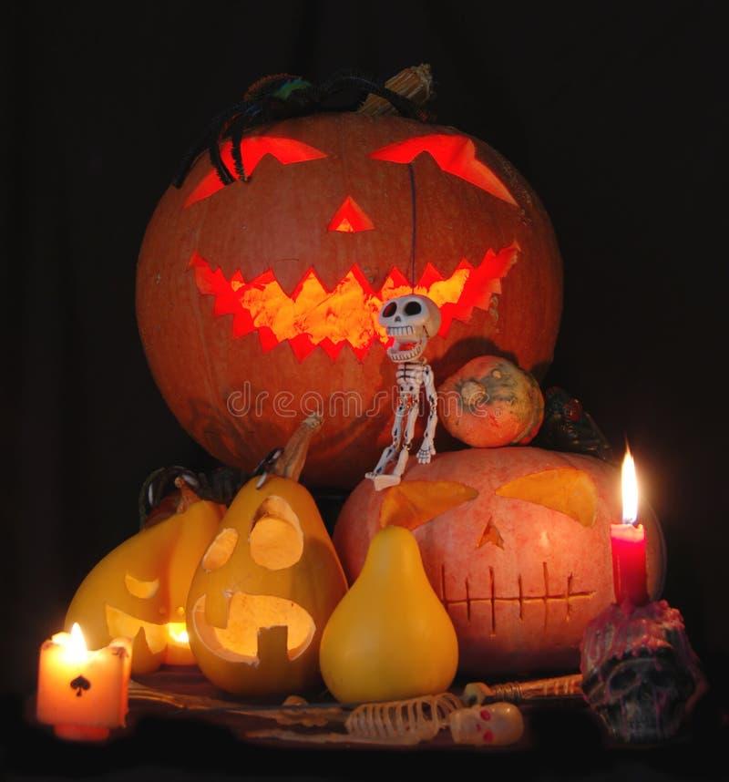 Composição de Halloween fotos de stock royalty free
