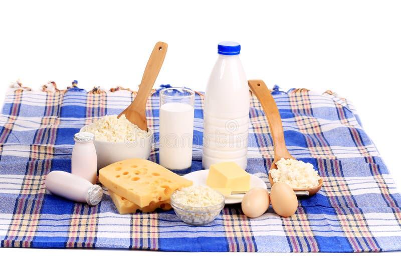 Composição de produtos saudáveis do café da manhã. foto de stock