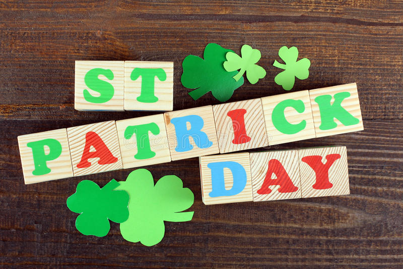 Composição de St Patrick fotos de stock