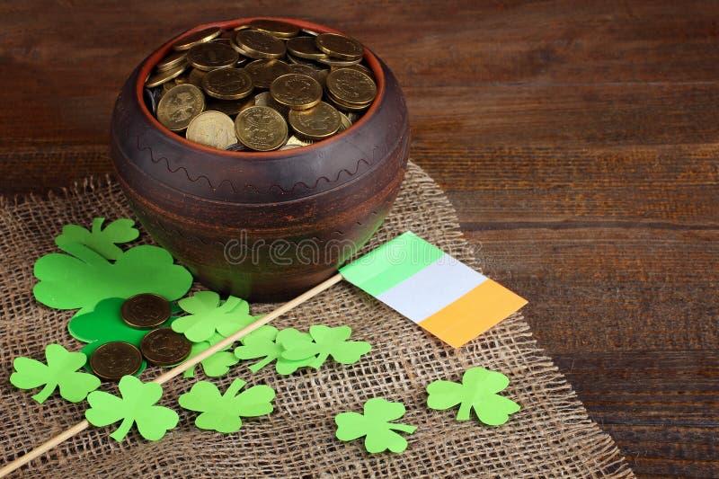 Composição de St Patrick imagem de stock