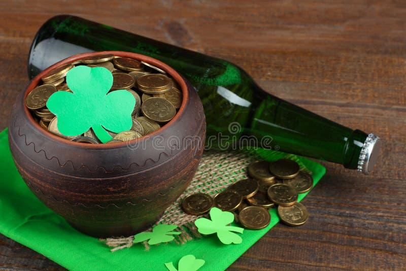 Composição de St Patrick fotografia de stock