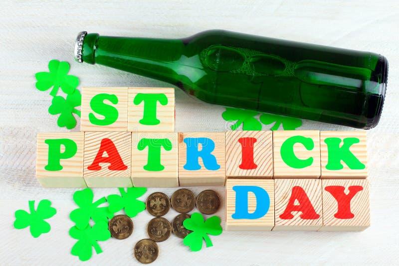 A composição de St Patrick imagens de stock royalty free