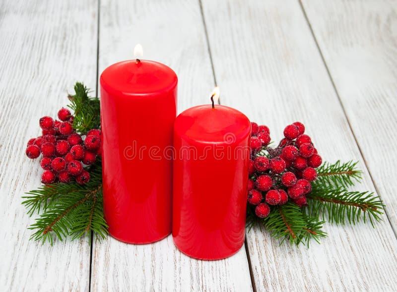 Composição decorativa do Natal foto de stock royalty free