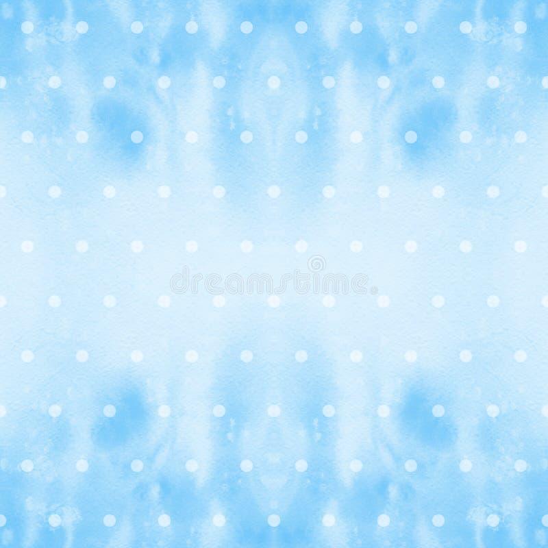 Composição decorativa watercolor Teste padrão sem emenda Use materiais impressos, sinais, artigos, Web site, mapas, cartazes, car ilustração royalty free