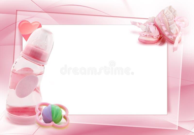 Composição do bebé ilustração stock