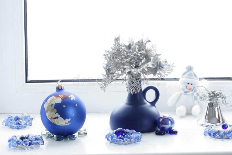 Composição do Natal Humor do inverno Decorações do Natal fotografia de stock royalty free