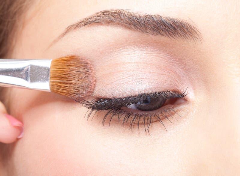 Composição do olho imagem de stock