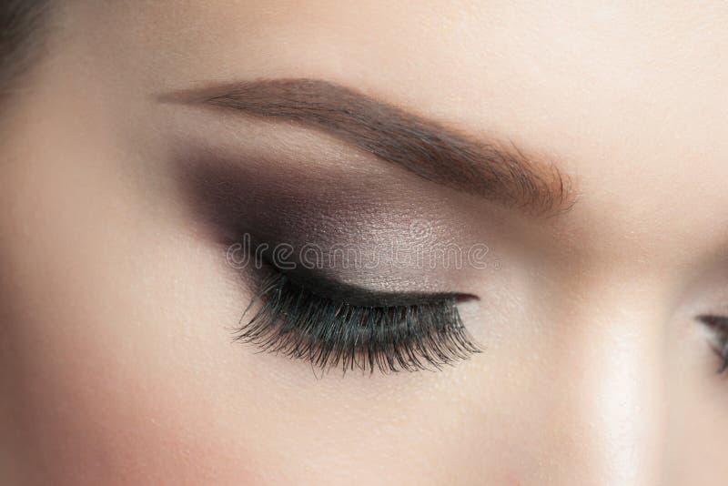 Composição do olho fotografia de stock royalty free