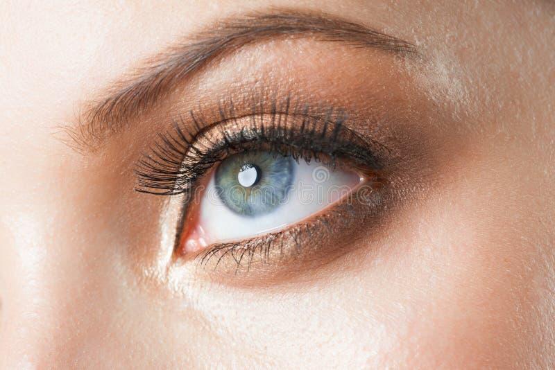 Composição do olho fotos de stock