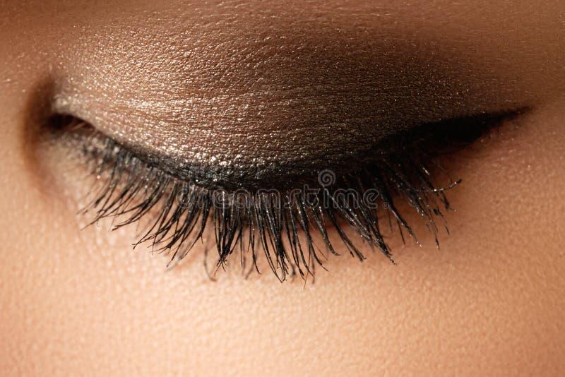 Composição do olho Composição retro do estilo dos olhos bonitos Composição d do feriado fotografia de stock royalty free