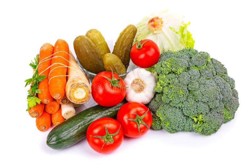 Composição De Vegetais Crus Imagem de Stock