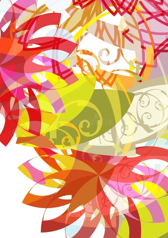 Composição floral imagens de stock