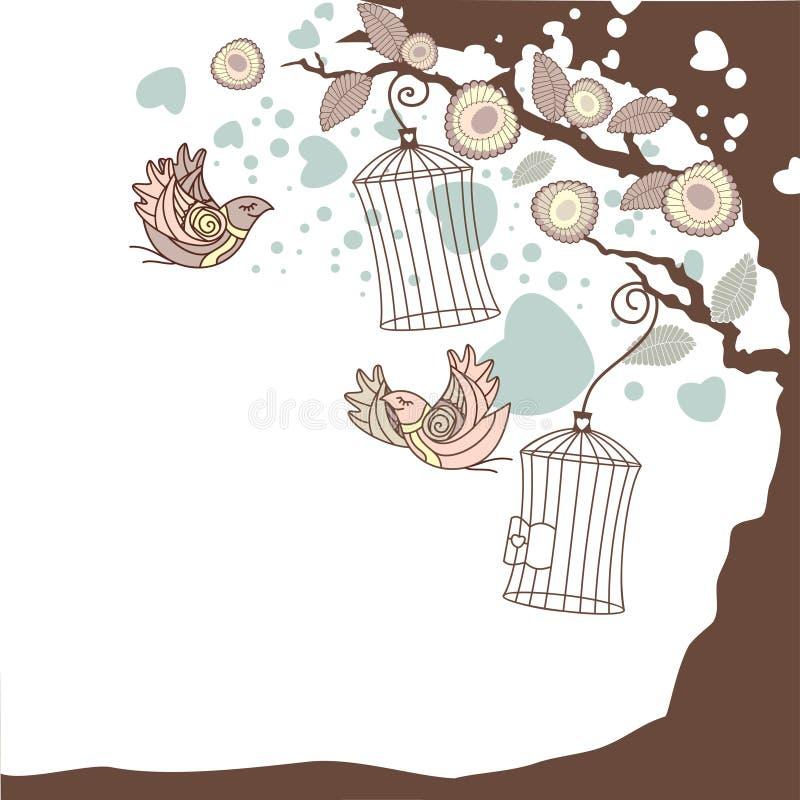 Composição floral do verão ilustração royalty free