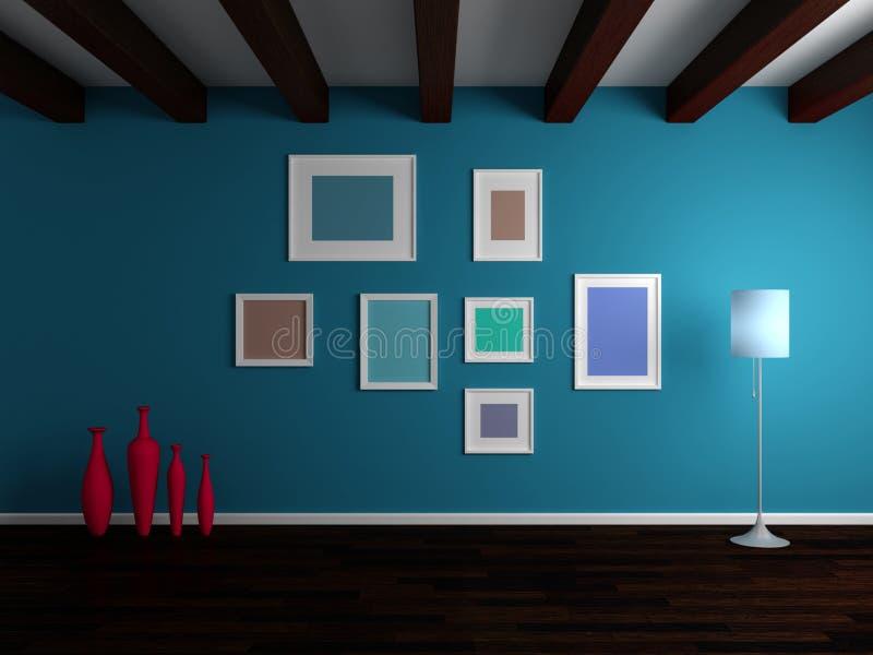 Composição interior moderna ilustração stock