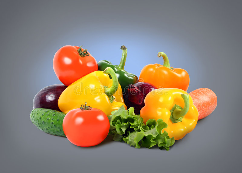 Composição vegetal esplêndida foto de stock royalty free