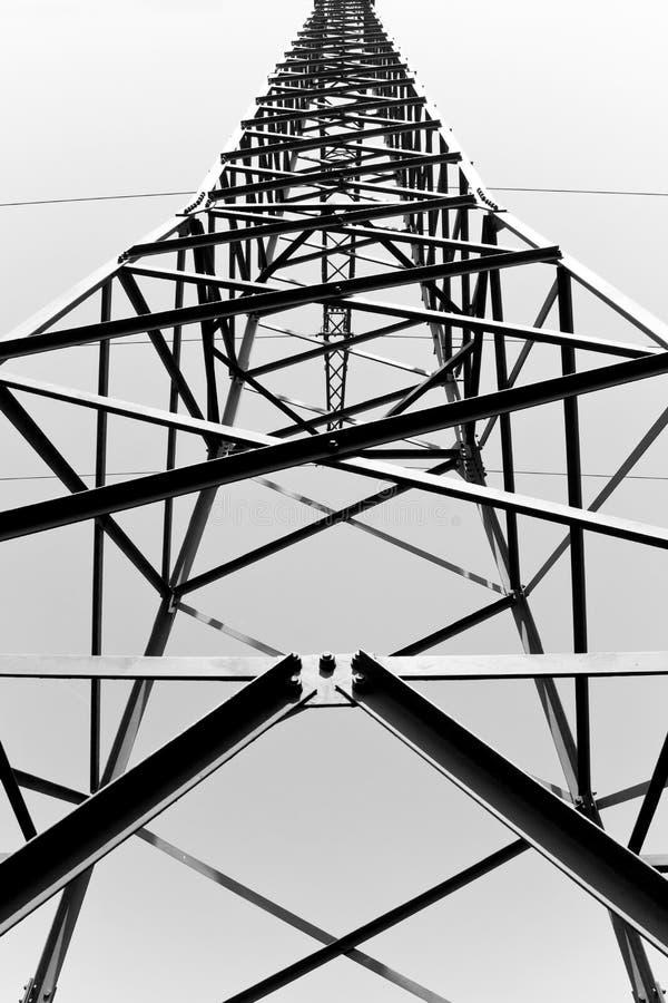 Composición abstracta blanco y negro fotografía de archivo