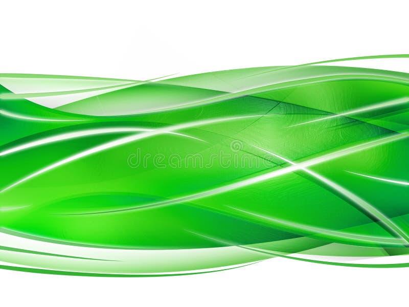 Composición abstracta con las curvas, líneas, gradientes libre illustration