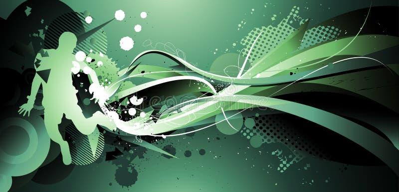 Composición abstracta del color libre illustration