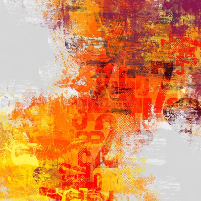 Composición abstracta del error tipográfico libre illustration
