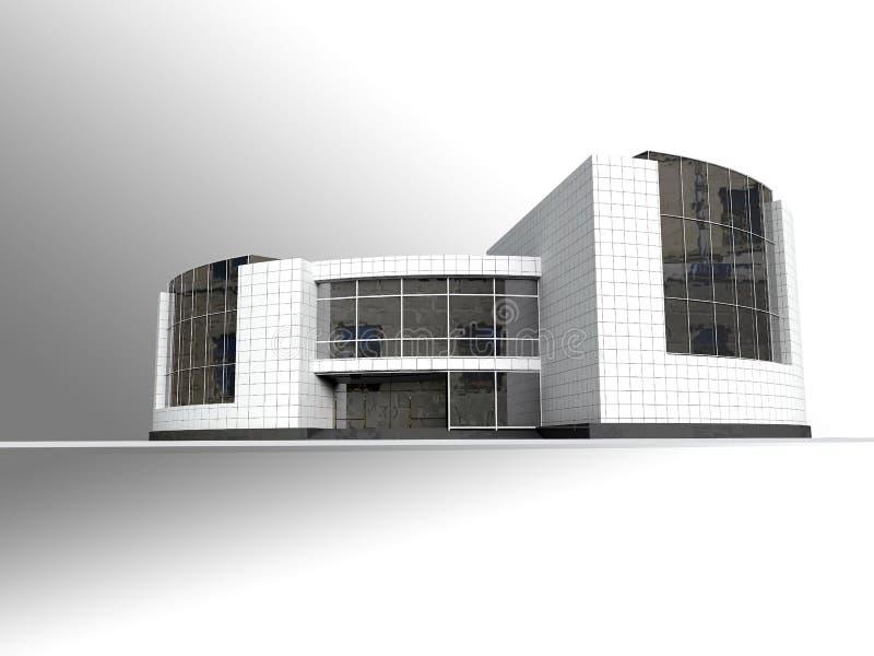 Composición arquitectónica stock de ilustración