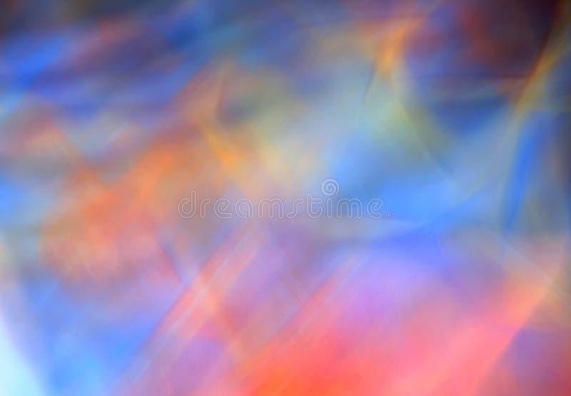 Composición azul abstracta ilustración del vector