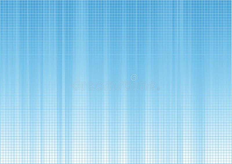 Composición azul del fondo stock de ilustración