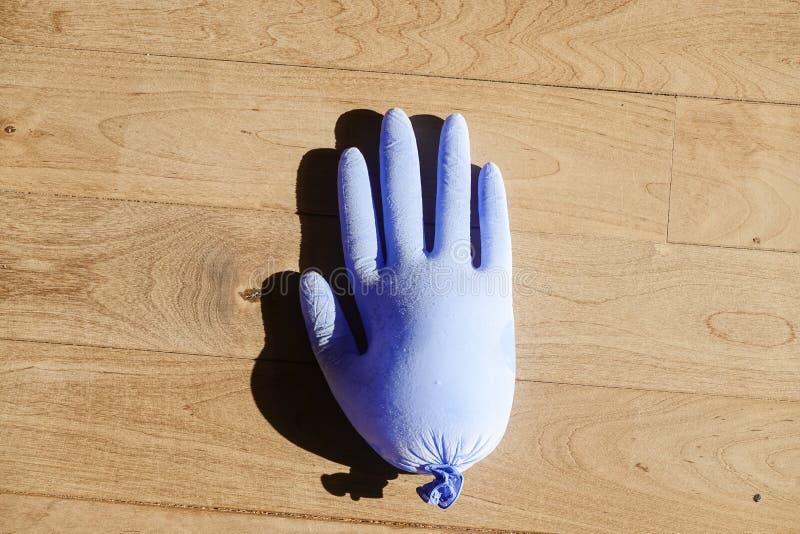 Composición con el clavo de goma congelado imagen de archivo libre de regalías