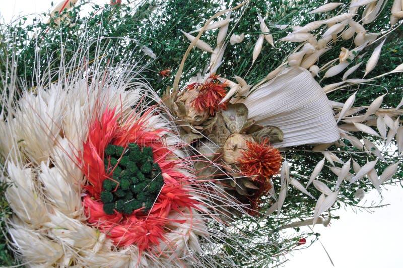 Composición de flores secadas imágenes de archivo libres de regalías