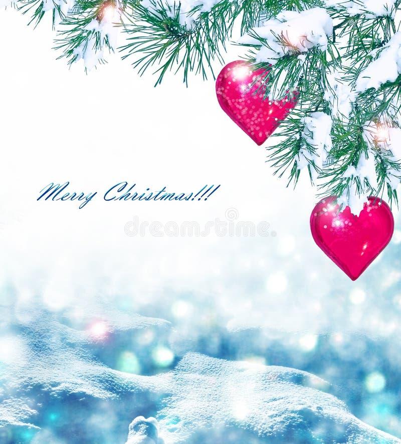Composición de la Navidad del día de fiesta imagen de archivo libre de regalías