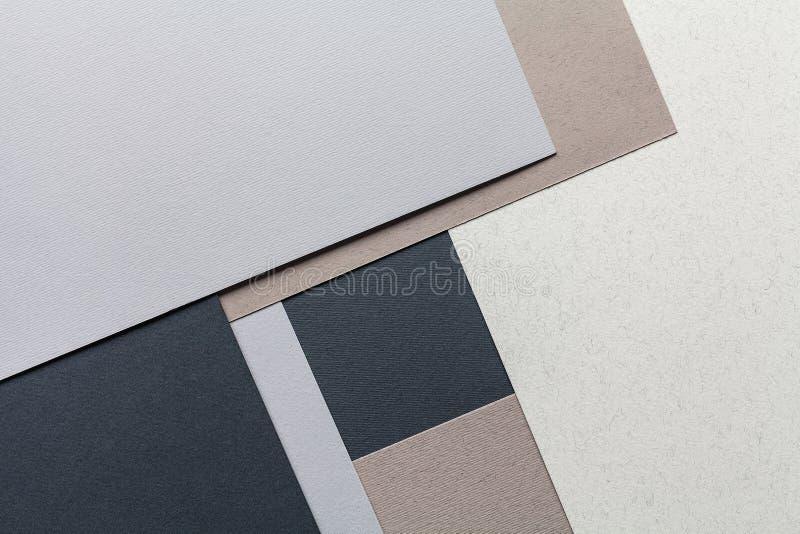 Composición de papel de la textura foto de archivo